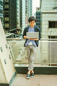 Japanese college student studying in New York 15041419 by Alexander Image