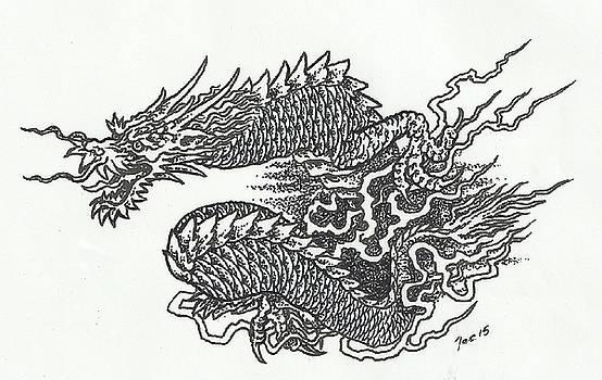 Japanese Dragon by Jacki Randall