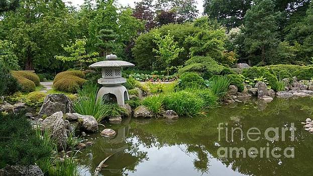 Japanese garden -2. by Susanne Baumann