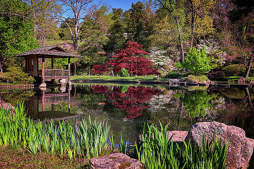 Japanese Garden at Maymont by Rick Berk