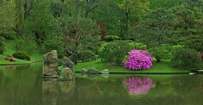 Japanese Garden by Kirk Sewell