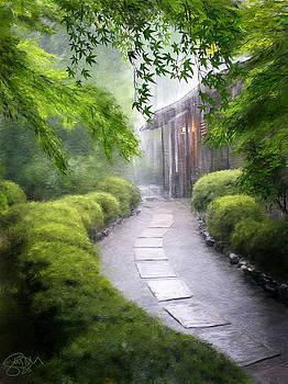 Japanese Garden Path by Scott Melby