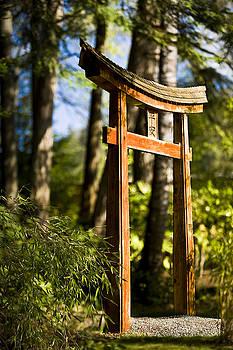 Japanese Gardens, Mayne Island by Lorna Rande