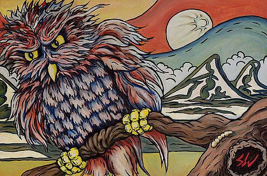 Japanese Owl by Sean Washington