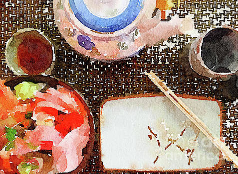 Japanese Place Setting by Anita Van Den Broek