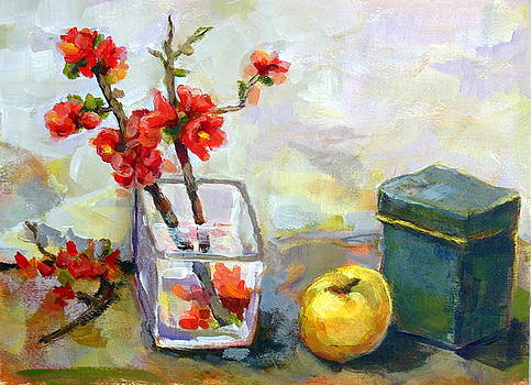 Japanese quinces. by Alfons Niex