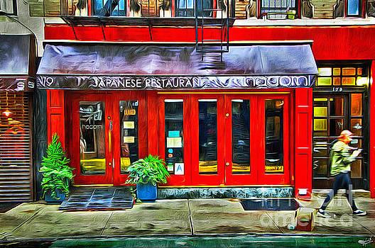 Japanese Restaurant Storefront by Nishanth Gopinathan