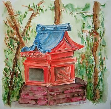 Japanese Shrine by Elaine Duras