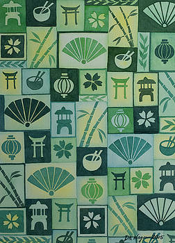 Japanese Tapistry by DK Nagano