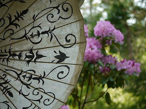 Japanese Umbrella by Teresita Abad Doebley