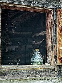 Jar in Window by Charles McKelroy