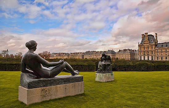 Mick Burkey - Jardin des Tuileries