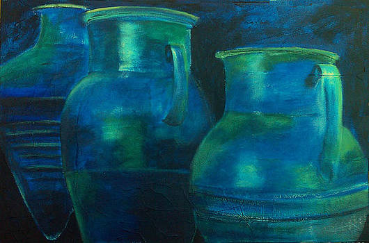 Jarres bleues de Siphnos by Lesuisse Viviane