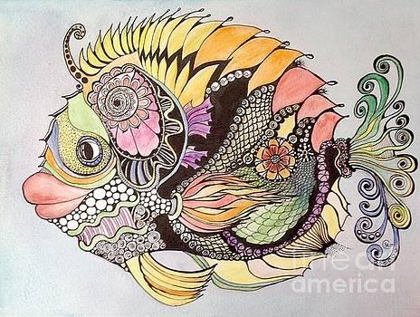 Jasmine The Fish by Iya Carson