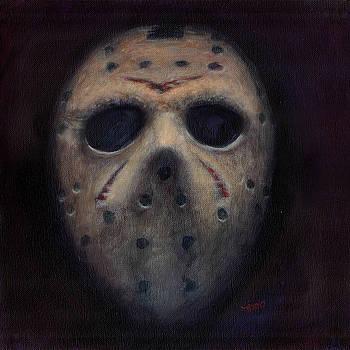 Jason Voorhees Mask by Noelle Magana