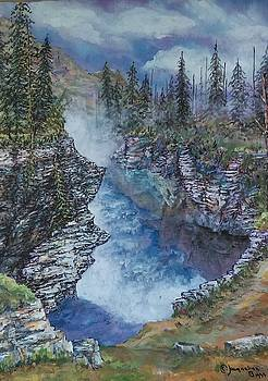 Jasper Canyon View by Jacqueline Biggs