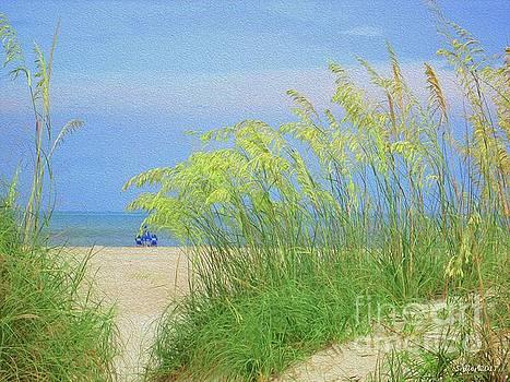 Jax Beach by Samuel Allen