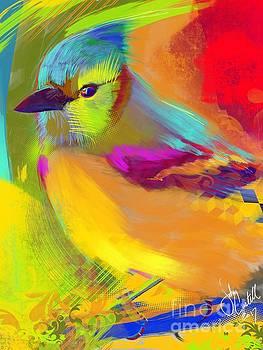 Jay bird by John Castell