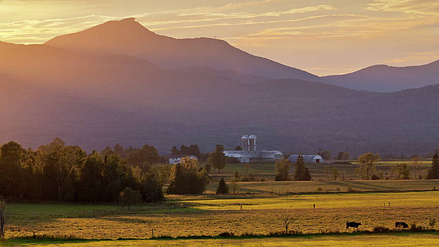 Jay Peak September Sunset by Alan L Graham