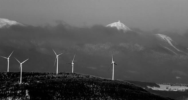 Jay Peak Wind Power by Tim Kirchoff
