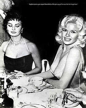 California Views Mr Pat Hathaway Archives - Jayne Mansfield Hollywood  actress Sophia Loren 1957