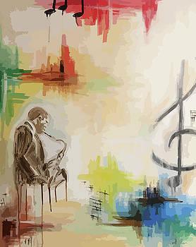Jazz 002a by Cortney Herron