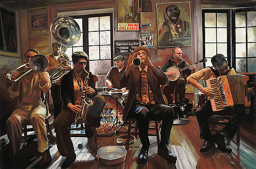 Jazz A 7 by Guido Borelli
