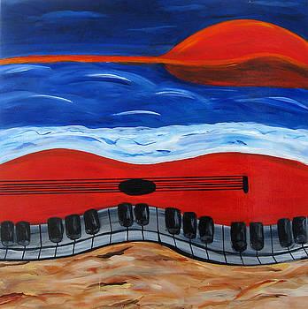 Jazz at Sea  by Victoria  Johns