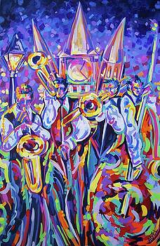Jazz at the Square by Elaine Adel Cummins