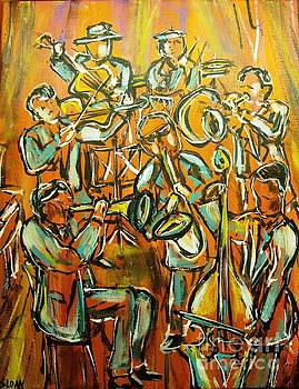 Jazz Band by Karen Sloan