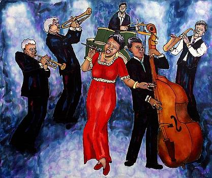 Jazz Band by Linda Marcille