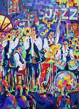 Jazz Club by Elaine Adel Cummins