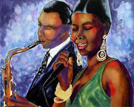 Jazz Duet by Linda Marcille