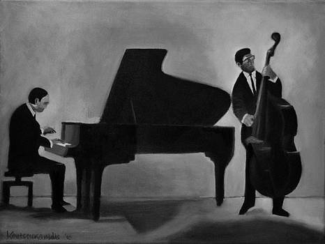Jazz Duo by Kostas Koutsoukanidis