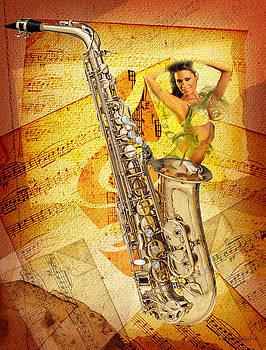 Jazz genie by Michael Burleigh