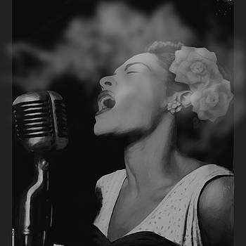 Jazz Great Billie Holiday by Michael Chatman