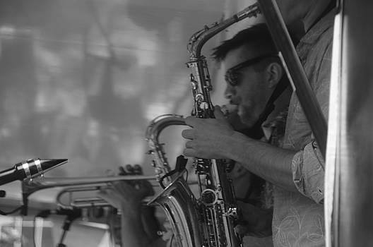 Jazz in Monochrome by Nik Watt
