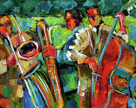Jazz in the Garden by Debra Hurd