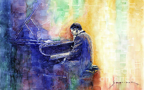 Jazz Pianist Herbie Hancock  by Yuriy Shevchuk