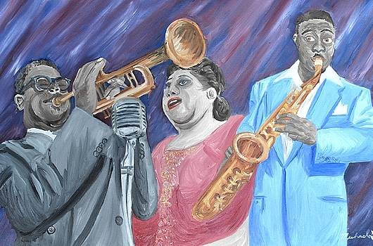 Jazz Players by Michael Lee
