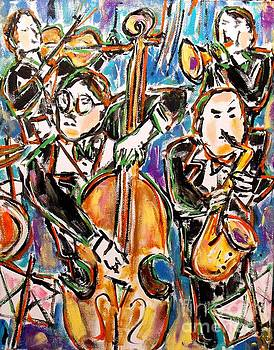 Jazz Quartet by Karen Sloan