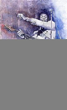 Jazz Rock Jimi Hendrix 07 by Yuriy  Shevchuk