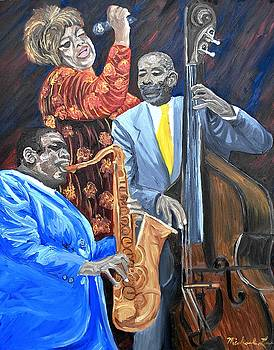 Jazz Singers by Michael Lee