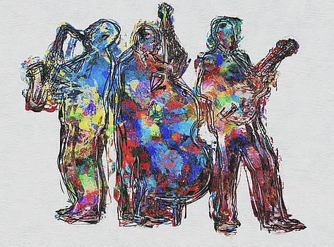 Jazz Trio by Jack Zulli