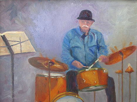 Jazz'in drums by Maureen Obey