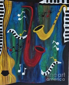 Jazzing it Up by Karen Day-Vath