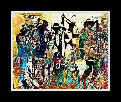 Jazzy Band by Lynda Payton