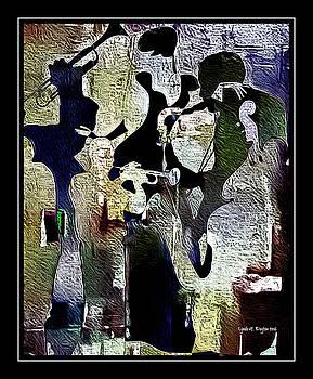 Jazzy Night 9 by Lynda Payton