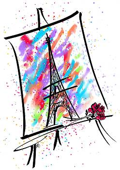 Je T'aime Paris by Rachel Christine Nowicki