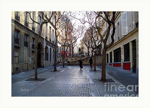 Felipe Adan Lerma - Jean Beauvais Paris Couple Walking